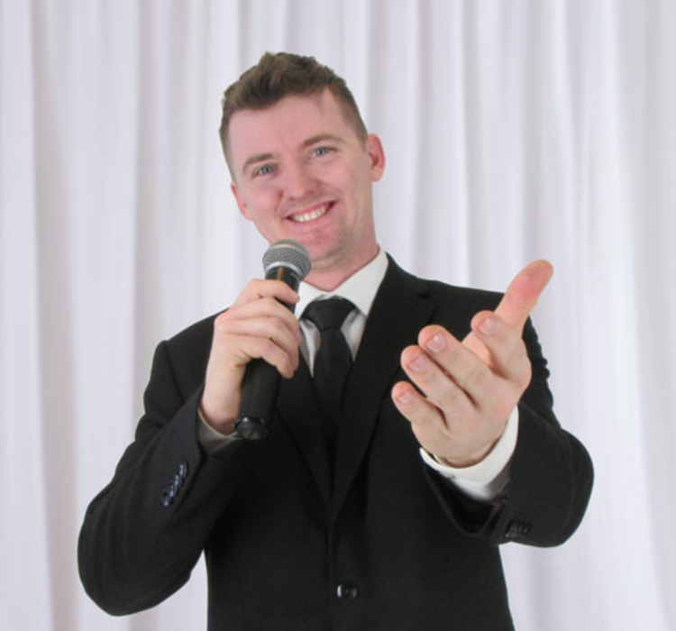 Riley Wieler is Saskatchewans Best Wedding DJ, Master of Ceremony and Entertainment Specialist. Providing the highest quality services across Canada is a fact of life for him.